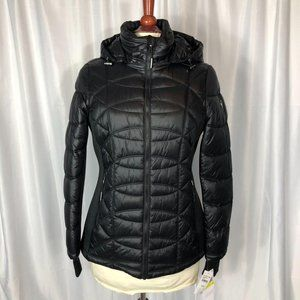 Michael Kors Quilted Hooded Jacket NWT